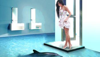 5 по-настоящему красивых идей наливных полов с 3д печатью
