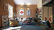 Как оформить в стиле лофт обычную городскую квартиру