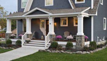 Крыльцо к дому своими руками: идеи оформления и правильные варианты постройки крыльца для дома