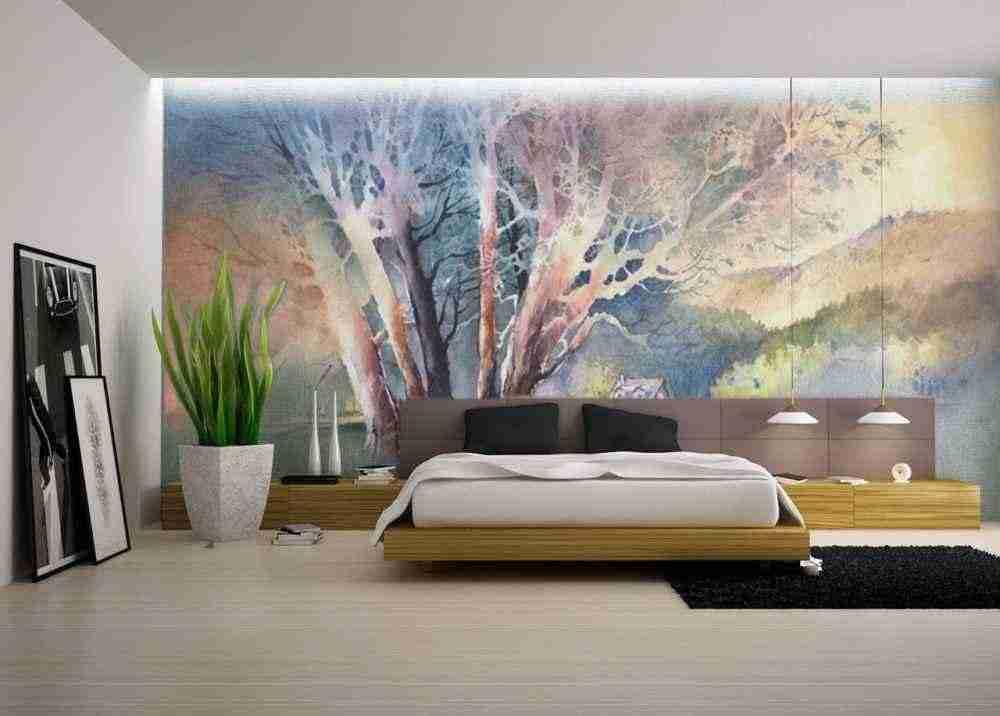 Роспись стен в квартире, модная тенденция или кич?