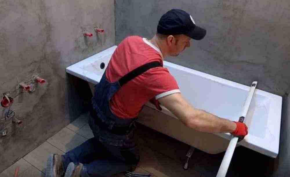 Что необходимо знать для правильного монтажа ванны