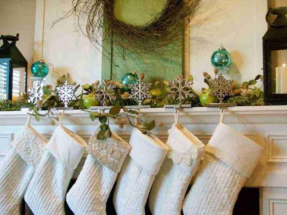 Новогодний камин: идеи декора