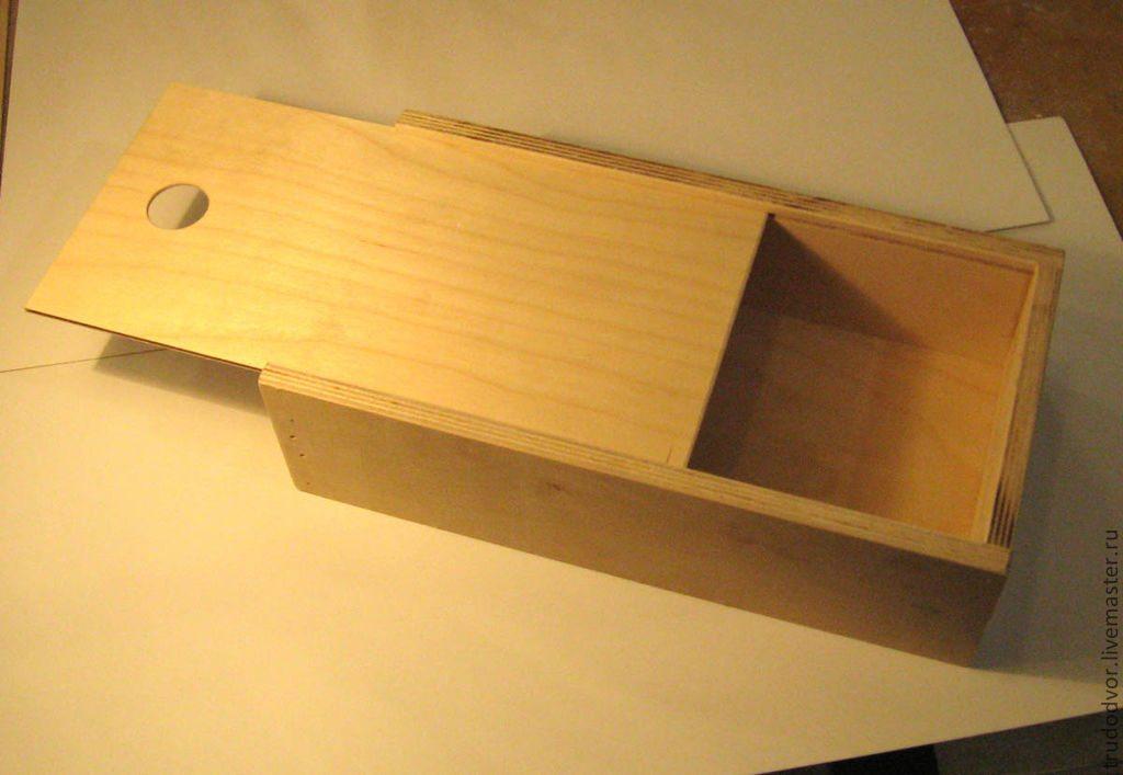 Коробочки из фанеры: материалы и элементы, раскрой листа и сборка ящика