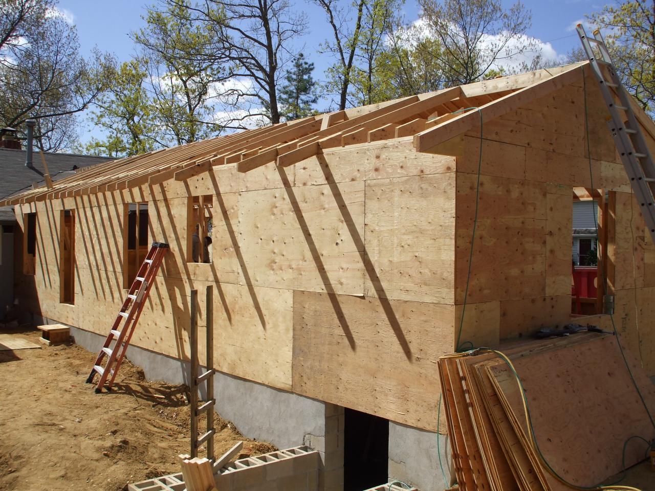 Поднять каркасный дом своими руками пошаговая инструкция фото 355