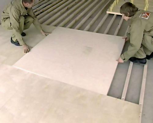 Пол из фанеры на лагах: характеристика материала, используемые инструменты, установка лагов и укладка листов