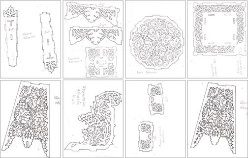 Выпиливание электролобзиком из фанеры: чертежи и правила работы с инструментом
