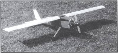 Самолет из фанеры: эскиз и сборка