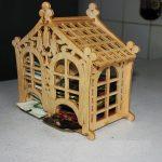 Чайный домик из фанеры