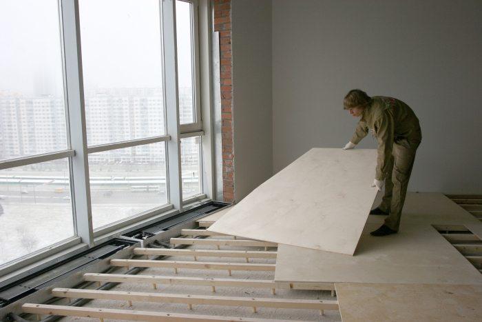 Как застелить пол фанерой, выбираем листовой материал и варианты монтажа