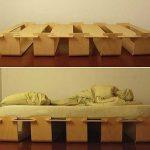 Кровать-конструктор из фанеры