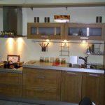 Кухня из шпонированной фанеры