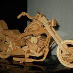 Мотоцикл из фанеры