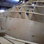 Обшивка корпуса катера из фанеры