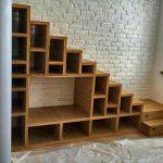 Полка-лестница из фанеры