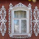 Резьба в оформлении фасада дома
