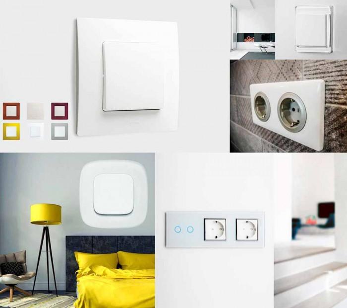 Как правильно размещать розетки и выключатели в квартире?