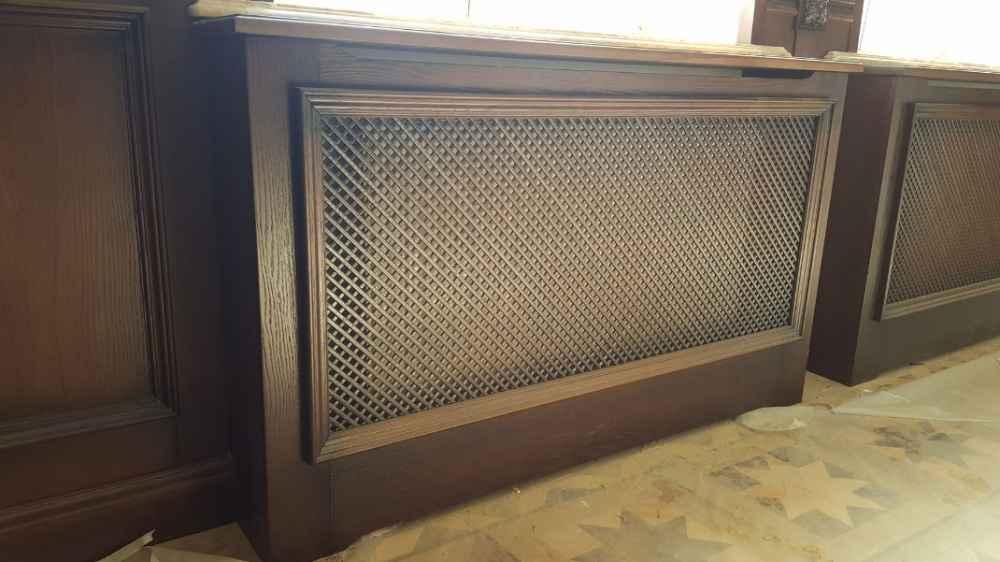 Выбор декоративного экрана для радиатора