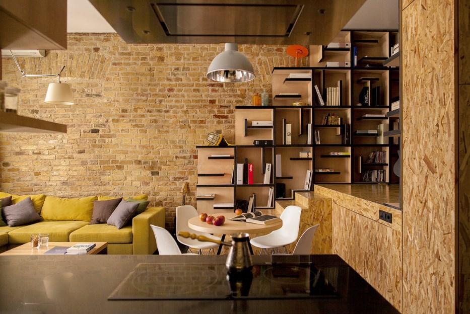 Лофт — творческий дизайн интерьера