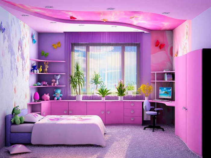 новая комната для девочки