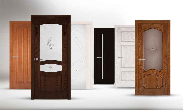 Огромное множество различных видов дверей