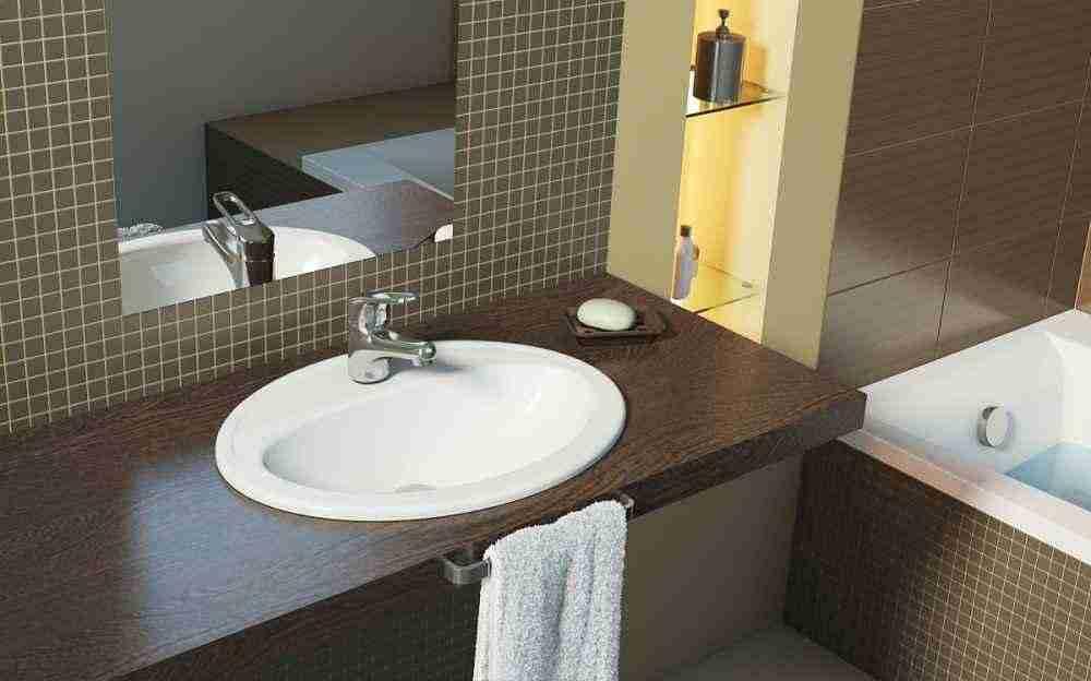 Столешница для ванной комнаты. Совершенство под рукой.