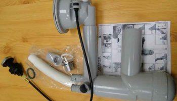 Сифон для кухонной мойки