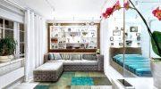 Стена и мебель одного цвета: как использовать прием для расширения комнаты