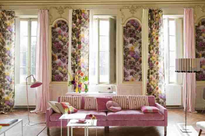 Цветочный принт: как правильно украсить им интерьер