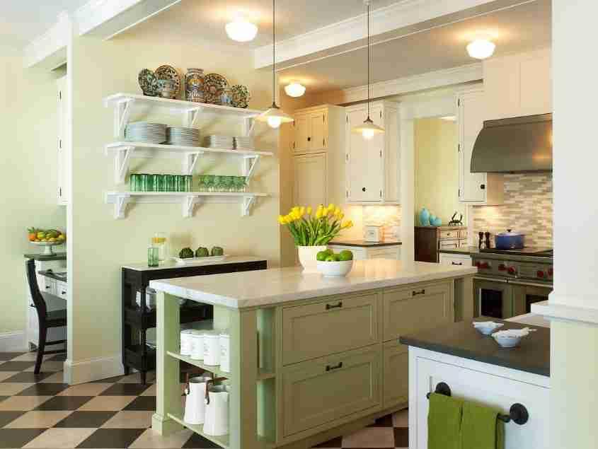 Интерьер кухни. Гармоничное сочетание цветов