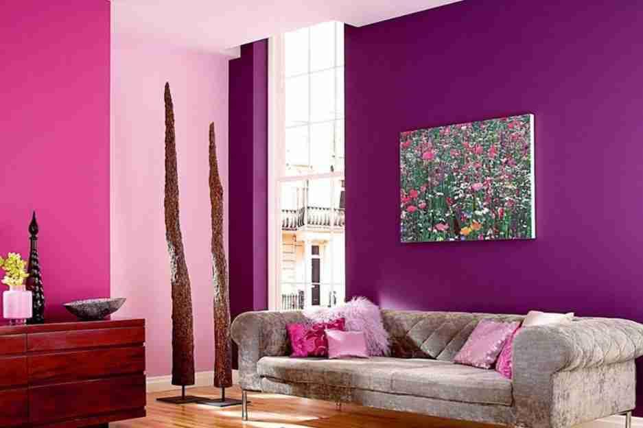 Дизайнерские решения при покраске стен