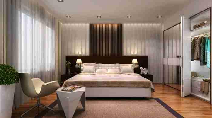 Изменение интерьера спальной комнаты
