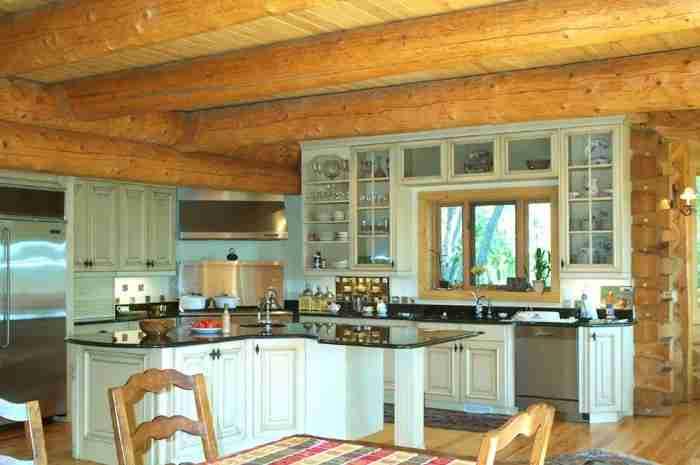 Обустройство кухни в частном домовладении