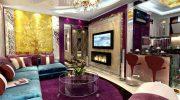 Уют и роскошь гостиной в стиле ар-деко: выбираем правильные аксессуары