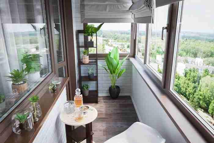 Балкон городской квартиры: нюансы обустройства