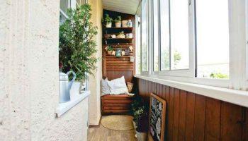 5 видов отдделки балконов в хрущёвках