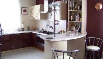 Почему на кухне должна быть барная стойка