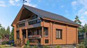 Проекты брусовых домов и строительство домов из бруса: характеристики материала