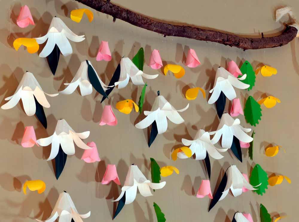 Бумажные колокольчики делаем украшения дома