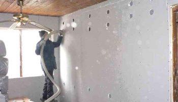 Чем заполнить пустоты между стенами и гипсокартоном вместо утеплителя