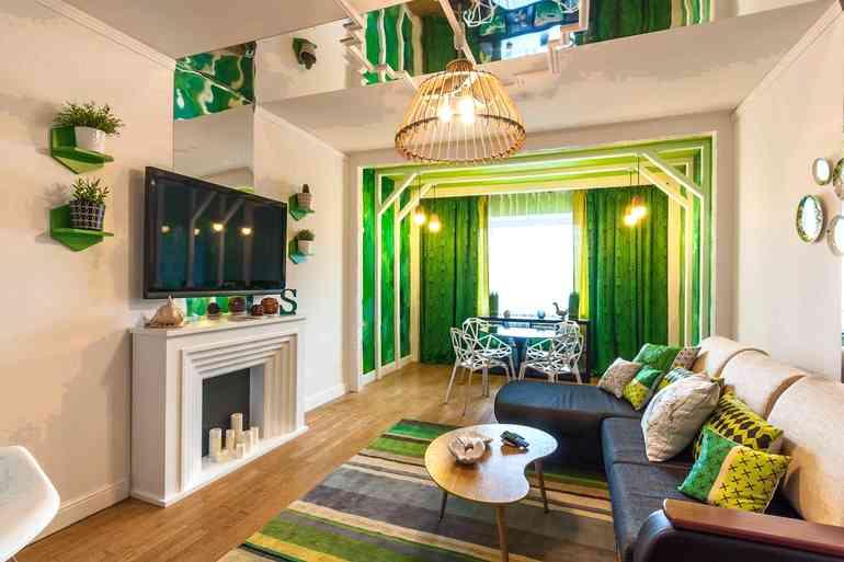 Как правильно зонировать квартиру-студию без массивных перегородок