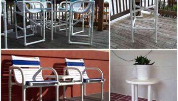 Делаем мебель из пластиковых труб — красиво, дешево, эстетично
