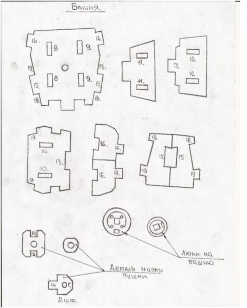 Детали башни