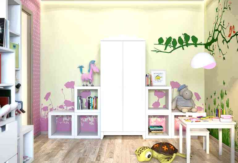Какая мебель должна обязательно быть в комнате для девочки