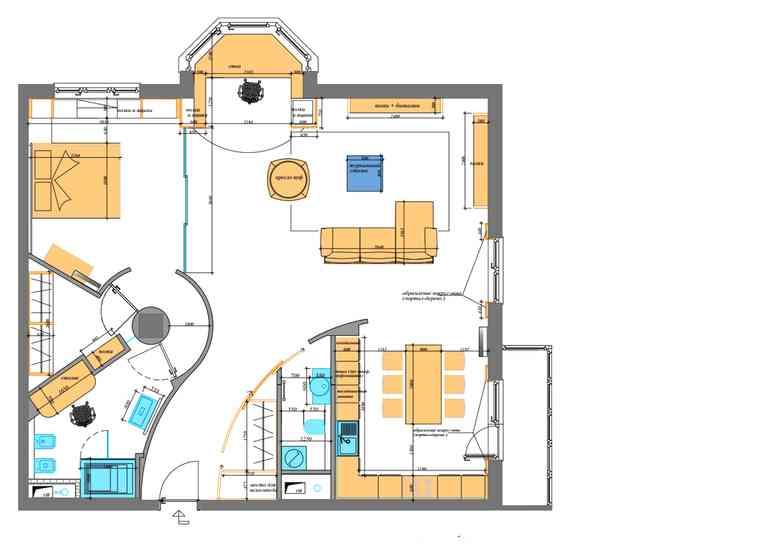 5 главных достоинств квартиры со свободной планировкой