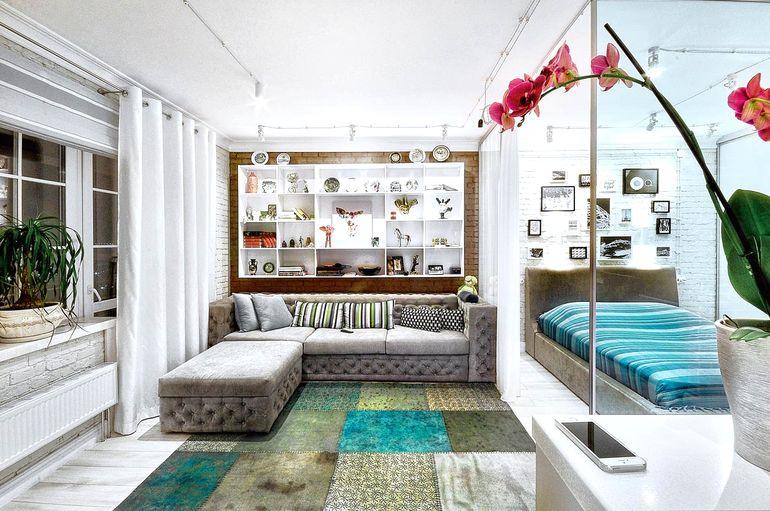 Как расширить пространство квартиры с помощью открытой планировки