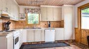 Мини кухня на дачу из оставшегося ламината