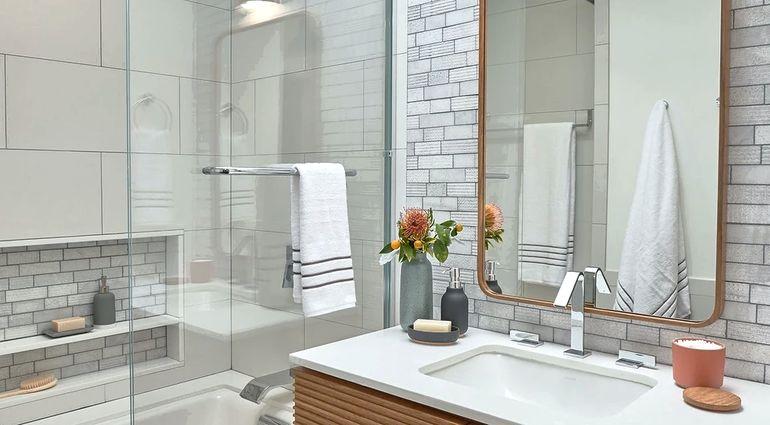 Дизайн ванной в хрущёвке, 5 важных правил