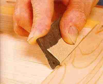 Для художественных работ лучше всего использовать ручной способ обработки