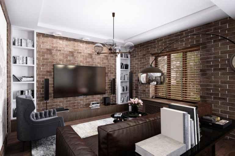 Как красиво обыграть темную мебель и не сделать квартиру мрачной