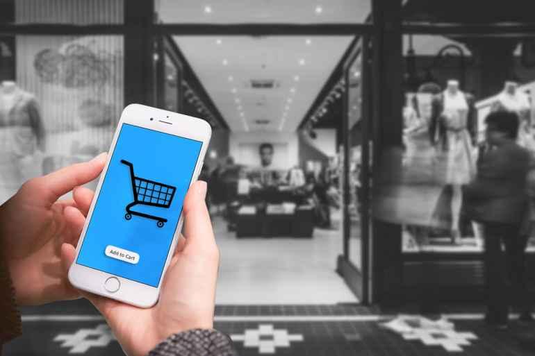 Mobile apps for e-commerce